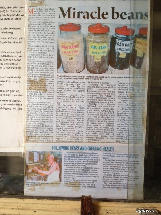 Bột Gạo Lứt mè đen-Bột Ngũ Cốc thực phẩm dinh dưỡng dành cho mọi lứa tuổi - 2