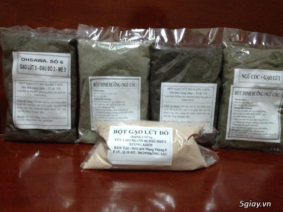 Bột Gạo Lứt mè đen-Bột Ngũ Cốc thực phẩm dinh dưỡng dành cho mọi lứa tuổi - 5