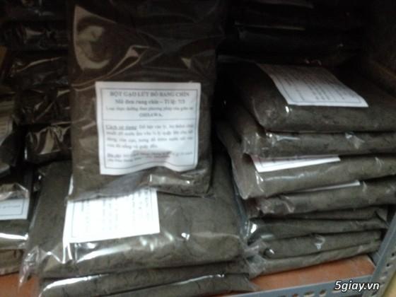Bột Gạo Lứt mè đen-Bột Ngũ Cốc thực phẩm dinh dưỡng dành cho mọi lứa tuổi - 7
