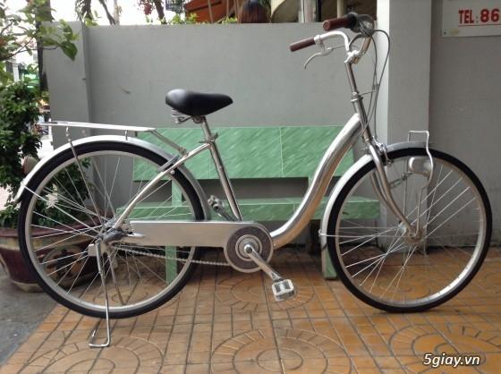 Xe đạp hàng Kho Bãi từ Cam về..