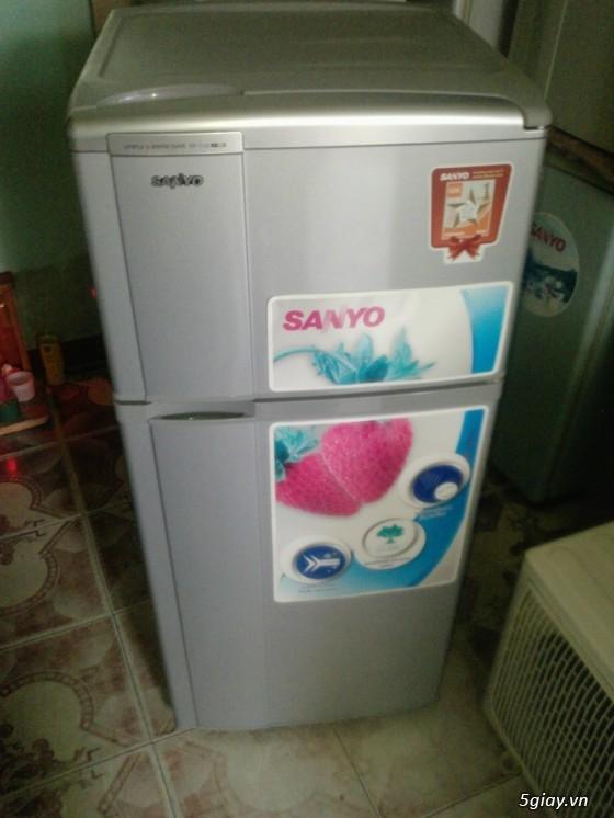 Gia Huy bán tủ lạnh sanyo loại 50 lít, 90 lít, 110. ..máy giặt, máy lạnh sử dụng tốt.