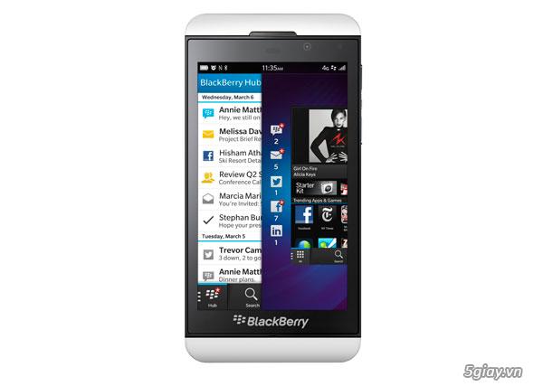 Thị trường - BlackBerry Z10 giảm giá sốc còn 4,5 triệu đồng ...