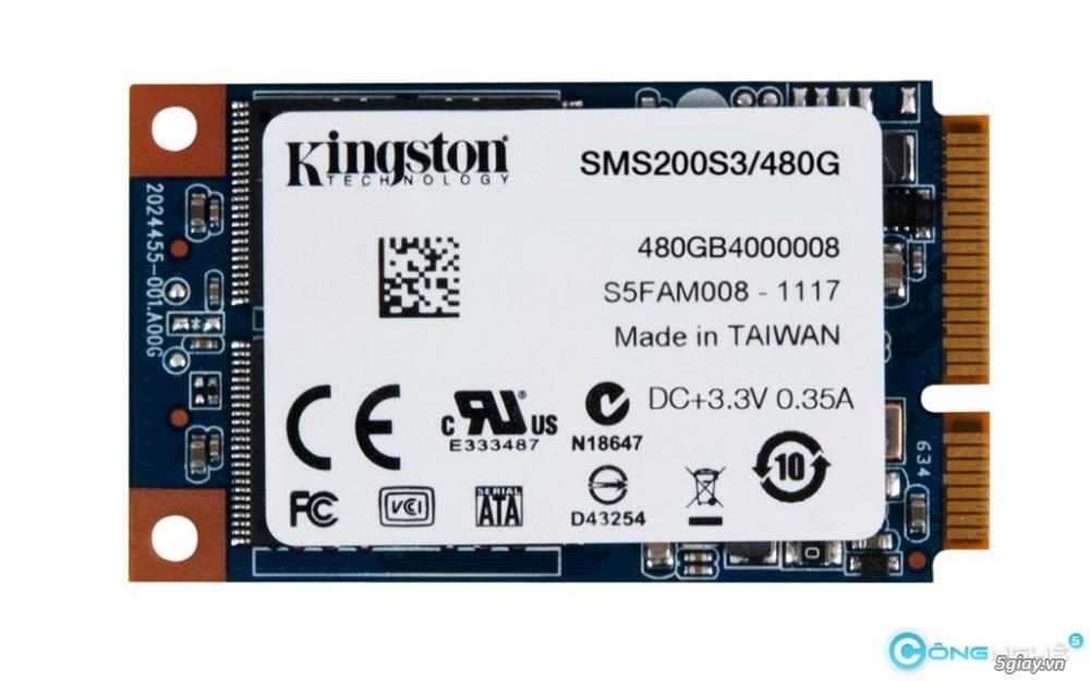 Kingston ra mắt ổ cứng mSATA dung lượng lớn - 15348