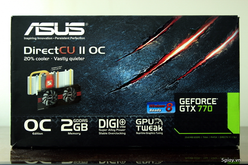 [Review] ASUS GeForce GTX 770 DC2 OC - 13849