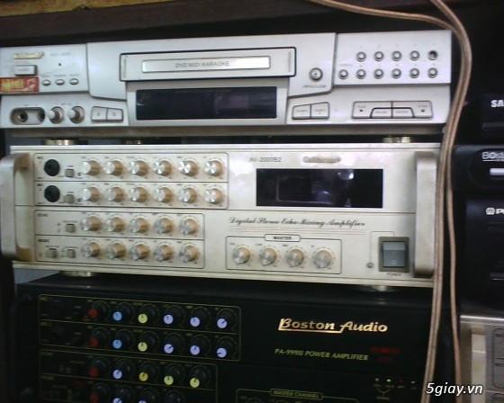 HCM - Q6 - bán thiết bị âm thanh karaoke cũ ( hoạt đông tốt) - mời ...