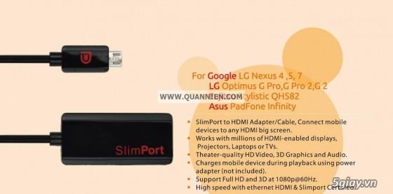 HDMI to VGA apdater , Mini Displayport , MHL , cáp HDMI , SLIMPORT TO HDMI chính hãng - 16