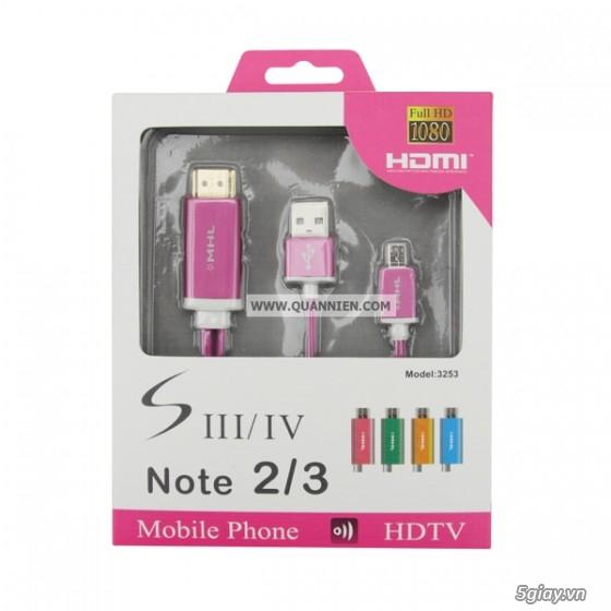 HDMI to VGA apdater , Mini Displayport , MHL , cáp HDMI , SLIMPORT TO HDMI chính hãng - 22