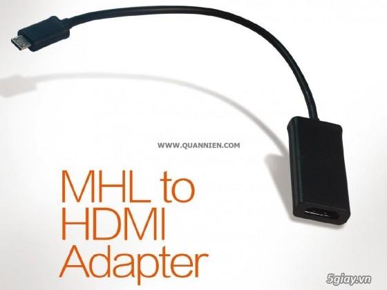 HDMI to VGA apdater , Mini Displayport , MHL , cáp HDMI , SLIMPORT TO HDMI chính hãng - 17