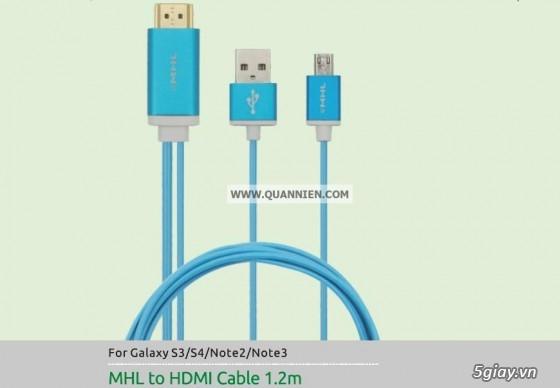 HDMI to VGA apdater , Mini Displayport , MHL , cáp HDMI , SLIMPORT TO HDMI chính hãng - 20