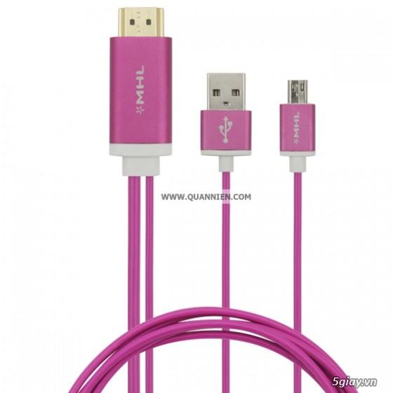 HDMI to VGA apdater , Mini Displayport , MHL , cáp HDMI , SLIMPORT TO HDMI chính hãng - 21
