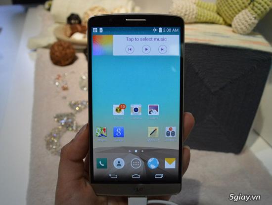 """5 tính năng đỉnh nhất của """"smartphone màn hình mịn hơn iPad"""" LG G3 ..."""