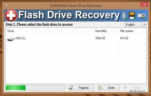 Download SoftOrbits Flash Drive - phần mềm khôi phục dữ liệu đã xóa trên USB - 19325