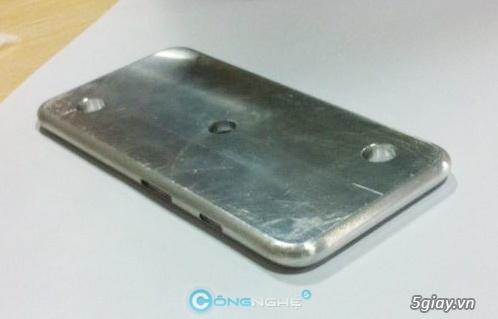 Tin tức - Xuất hiện bản mẫu bằng nhôm của iPhone 6 | Congnghe.