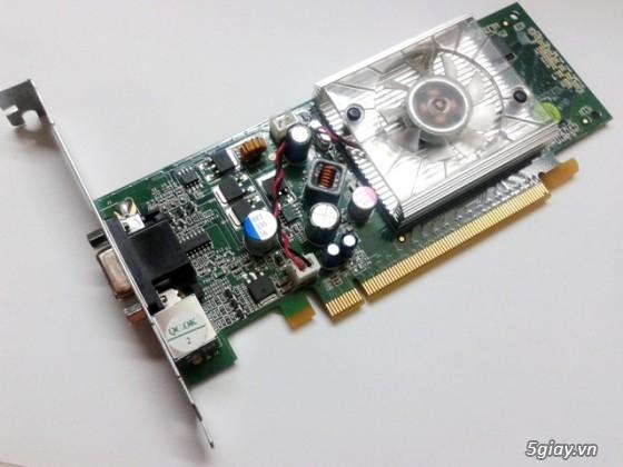 VGA PCIe hàng máy DELL mới tinh => ATI 256mb/128bit-64 bit giá cực rẻ. - 8
