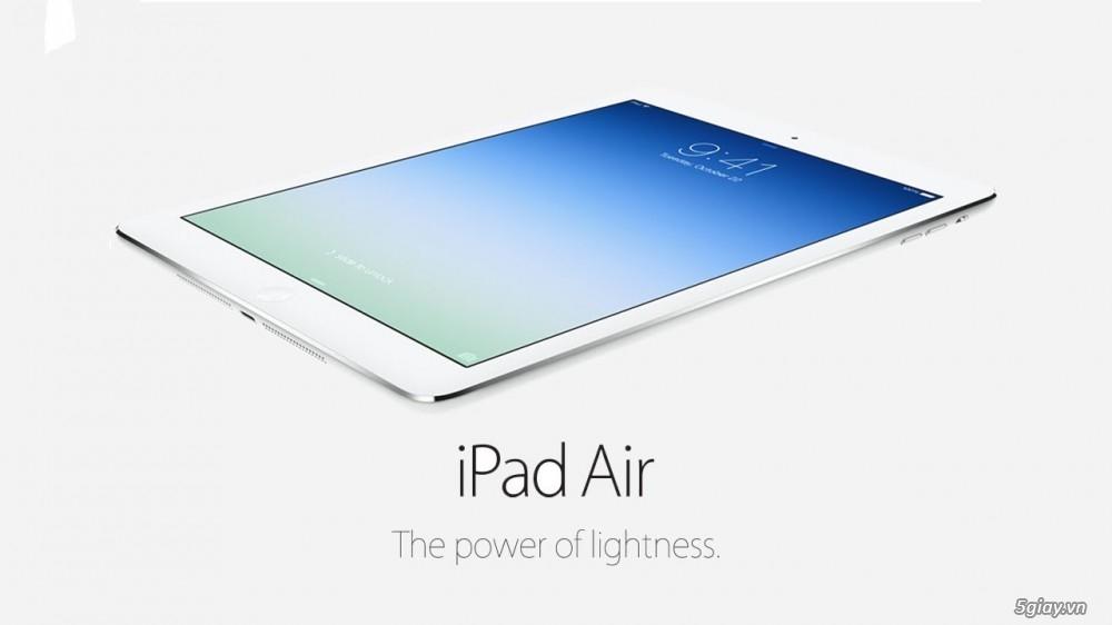 iPad Air chạy mượt mà trên nền tảng iOS 8 - 72544
