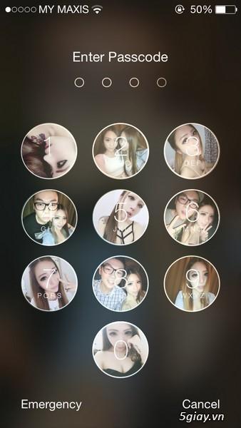 Chèn ảnh vào màn hình khóa iPhone, iPad với PicsArt Photo Studio - 20377