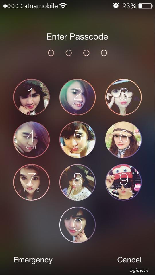Chèn ảnh vào màn hình khóa iPhone, iPad với PicsArt Photo Studio - 20379