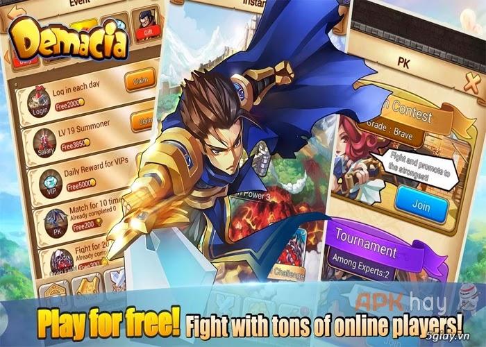 "Game - Demacia – Liên minh huyền thoại ""mini"" cho Android | Congnghe."