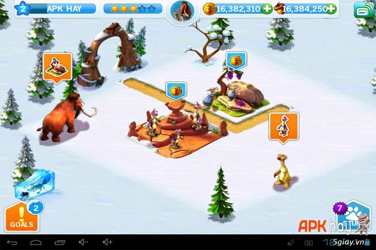 ice age village hack