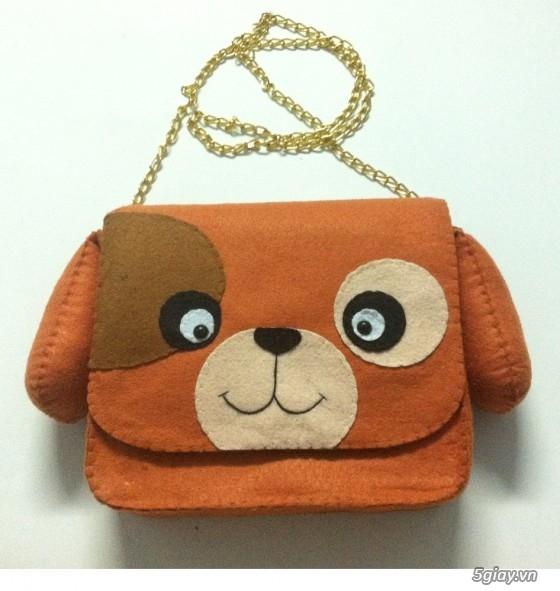 HCM - Túi, bóp, khung hình, đồ treo handmade dễ thương tặng người iu