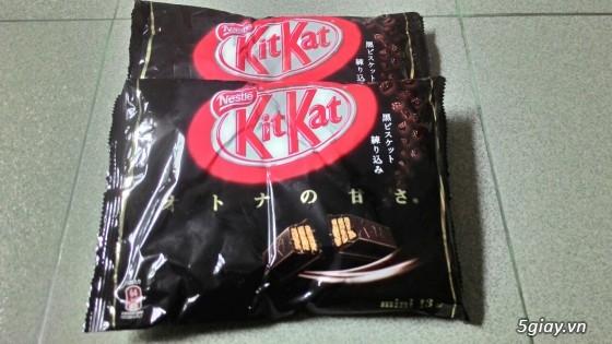 Socolate KitKat Trà Xanh Made In Japan ! - 8