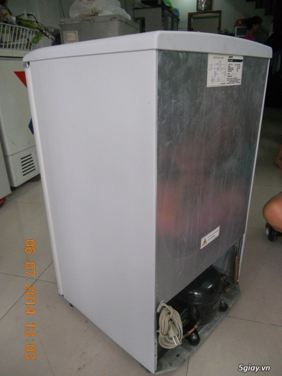 cần bán tủ lạnh mini hiệu SANYO SR-9jr. tủ mới 90%. - 4