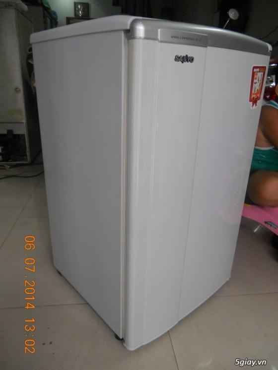 cần bán tủ lạnh mini hiệu SANYO SR-9jr. tủ mới 90%. - 1