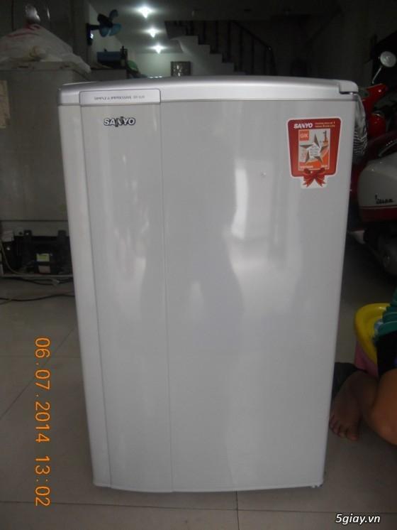 cần bán tủ lạnh mini hiệu SANYO SR-9jr. tủ mới 90%. - 2