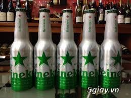 bia heineken bom 5 lít, coca cola nhật chai nhôm, heineken pháp chai nhôm - 18