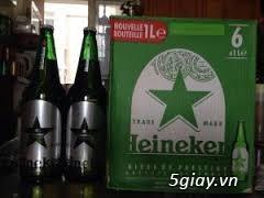 bia Heineken bom 5 lít, heineken lon cao, heineken chai nhôm. .. nhập khẩu