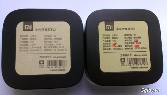 Tai nghe Xiaomi Pistons 2 và Pin sạc Xiaomi chính hãng nguyên seal 100% - 17