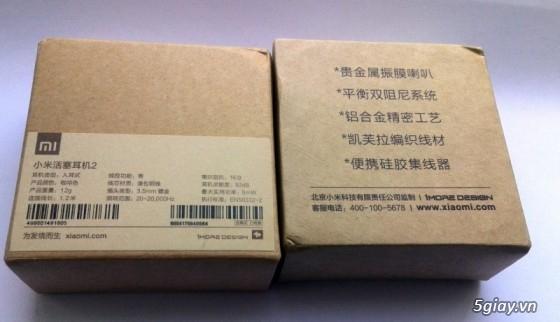 Tai nghe Xiaomi Pistons 2 và Pin sạc Xiaomi chính hãng nguyên seal 100% - 12