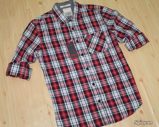 Áo thun Hollister VNXK,áo thun SuperDry VNXK ,áo A&F VNXK ,áo thun cổ tim thun láng - 27