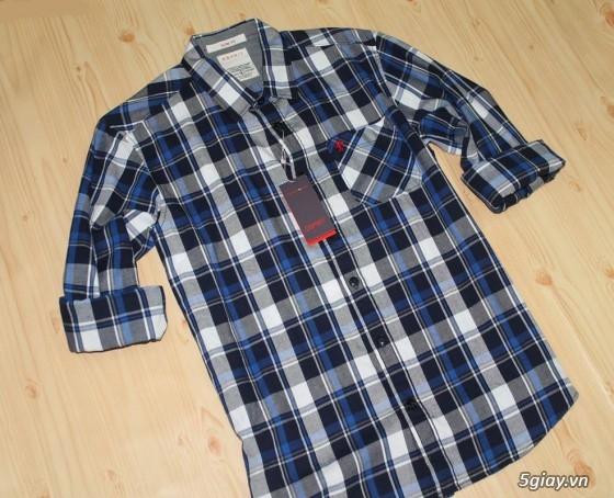 Áo thun Hollister VNXK,áo thun SuperDry VNXK ,áo A&F VNXK ,áo thun cổ tim thun láng - 23