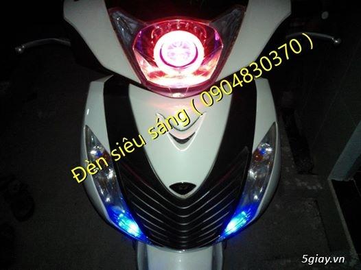 Chuyên Làm đèn xe siêu sáng...ko sáng ko lấy tiền giá siêu mềm
