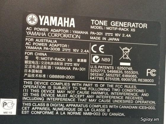 HCM - - Bán hộp tiếng yamaha motif XS | 5giay