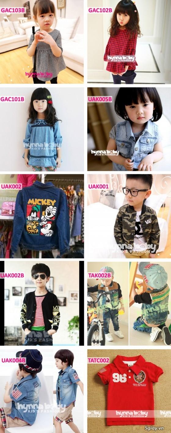 Shop Hynna Baby Sỉ và Lẻ quần áo và phụ kiện trẻ em, giày dép, nón, balô, kẹp tóc - 16