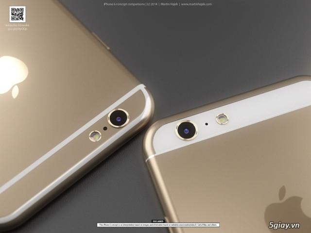 Bạn muốn thiết kế nào xuất hiện trên iPhone 6?