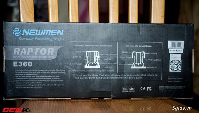 Bàn phím Newmen E360, món hàng hot cho game thủ bình dân và tiệm Net - 31792
