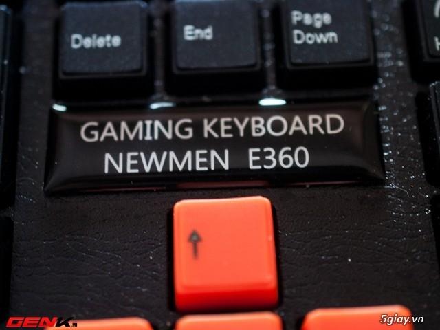 Bàn phím Newmen E360, món hàng hot cho game thủ bình dân và tiệm Net - 31796