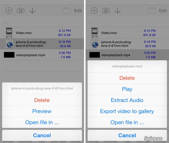 Dễ dàng tải nhạc/phim về iPhone với Media Downloader - 30310