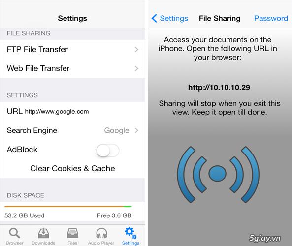 Dễ dàng tải nhạc/phim về iPhone với Media Downloader - 30311