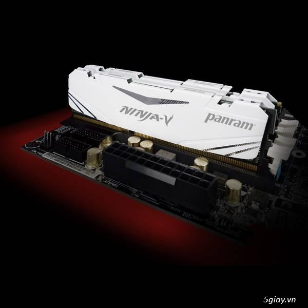 Panram Công Bố Sản Phẩm Thế Hệ Mới DDR4 Hiệu Năng Cao Dòng NINJA – V - 31510
