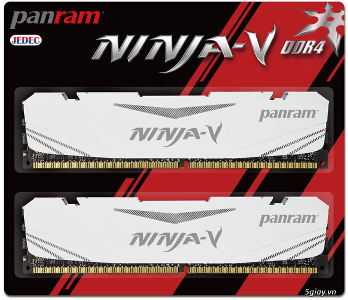 Panram Công Bố Sản Phẩm Thế Hệ Mới DDR4 Hiệu Năng Cao Dòng NINJA – V - 31512