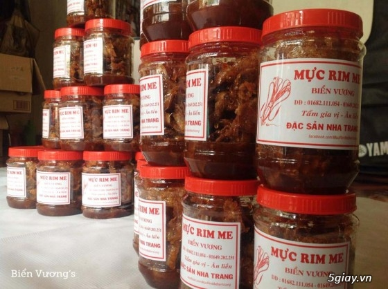 Mực Rim Me, Ghẹ Sữa Ram Nha Trang 100% thơm ngon 55k/ hộp - 11