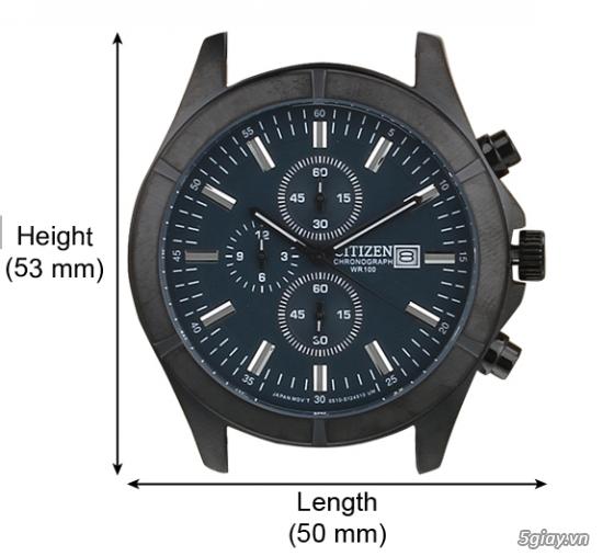 Đồng hồ Citizen xách tay từ Mỹ giá rẻ bất ngờ :D - 1