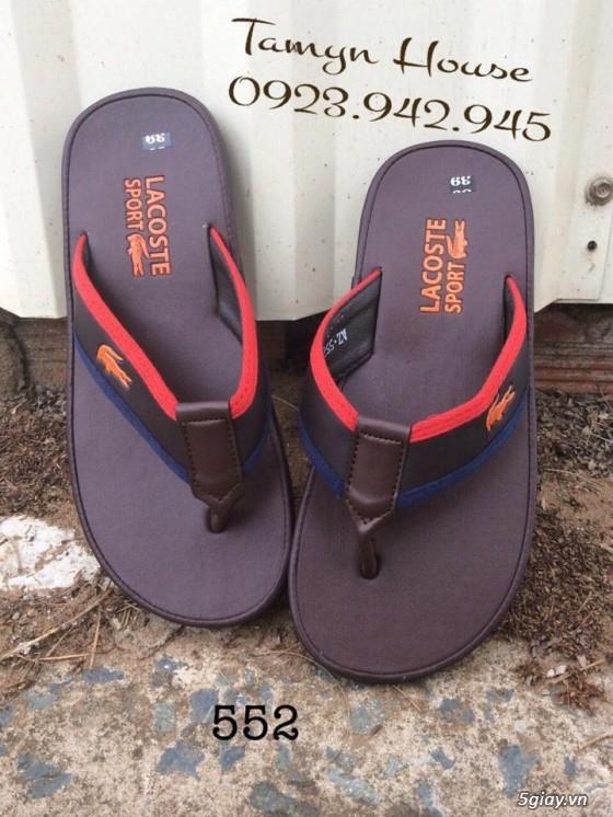 Giày dép nam thơi trang: Hermes, lacoste, adidas, prada....... - 27