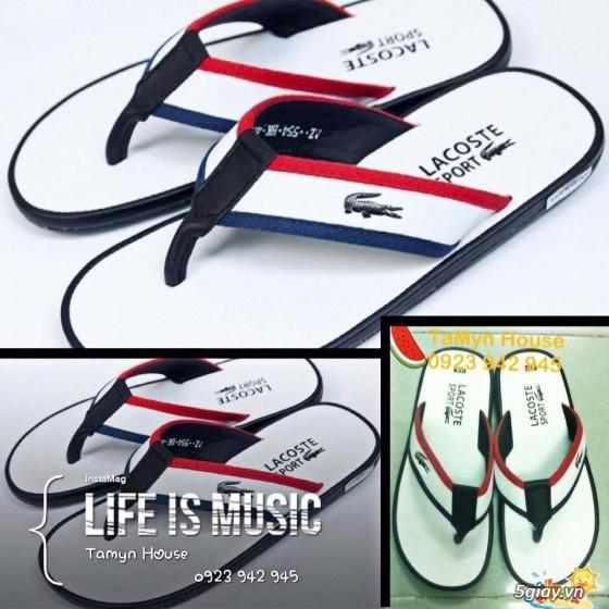 Giày dép nam thơi trang: Hermes, lacoste, adidas, prada....... - 25