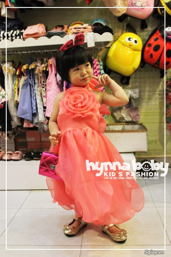 Shop Hynna Baby Sỉ và Lẻ quần áo và phụ kiện trẻ em, giày dép, nón, balô, kẹp tóc - 8