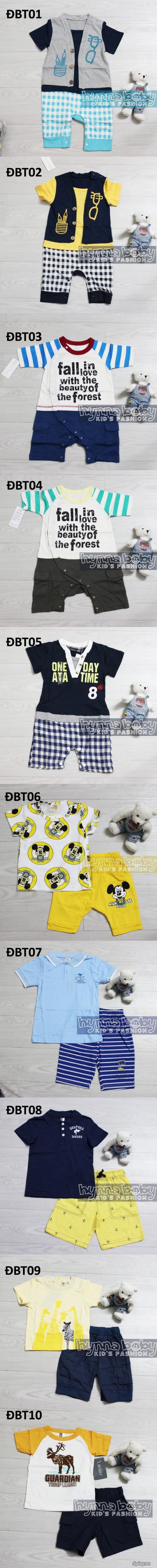 Shop Hynna Baby Sỉ và Lẻ quần áo và phụ kiện trẻ em, giày dép, nón, balô, kẹp tóc - 10